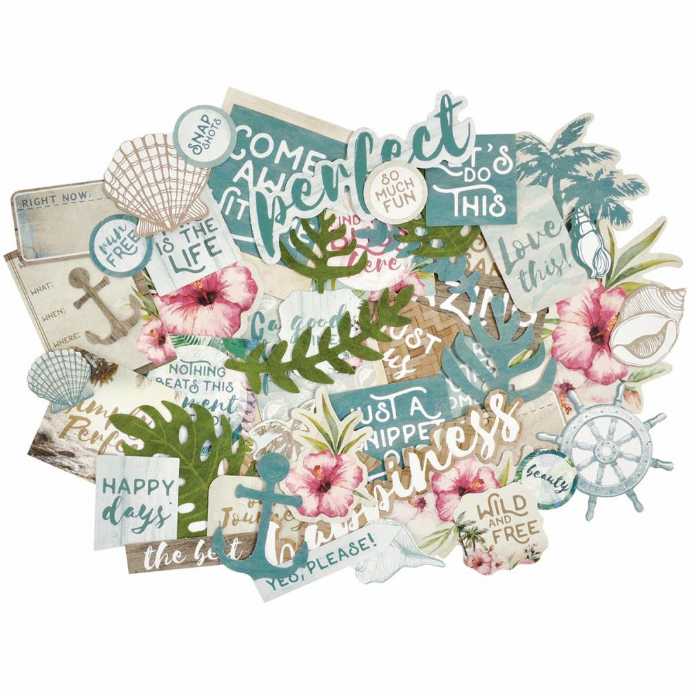 Kaisercraft Island Escape Collectables Die Cuts (S/O)