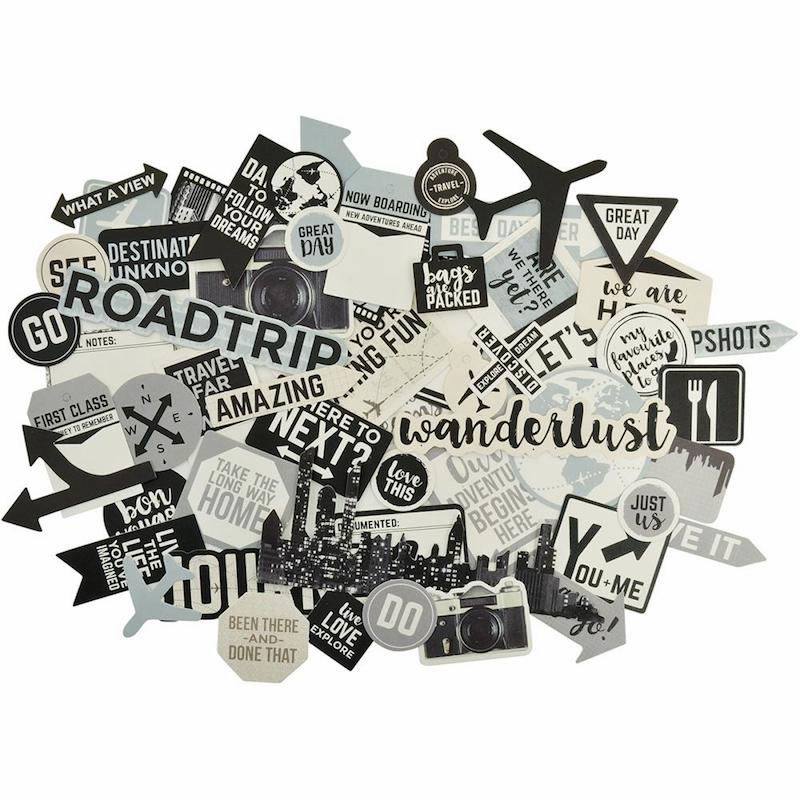 Kaisercraft Just Landed Collectables Die Cuts (S/O)