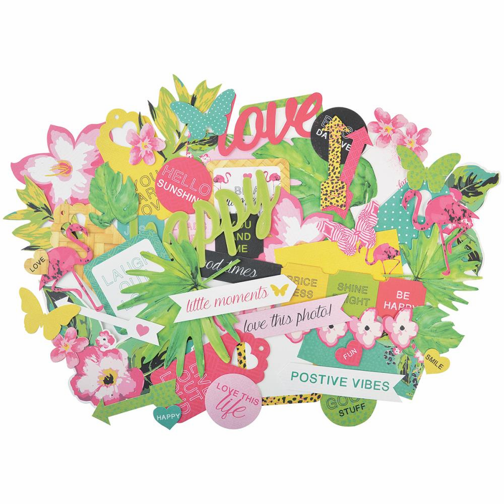 Kaisercraft Say Aloha Collectables Die-Cuts - S/O