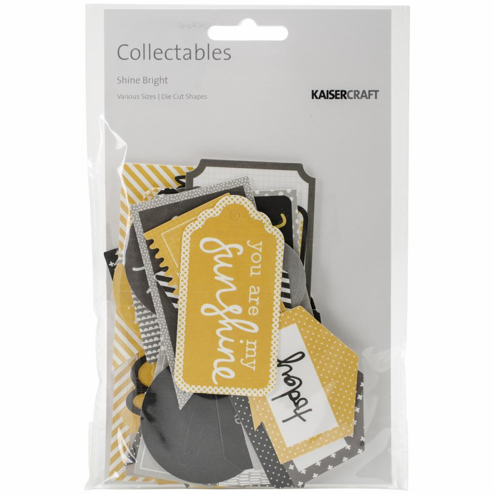 Kaisercraft Shine Bright Collectables Die-Cuts - S/O