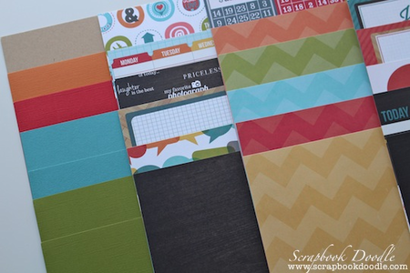 Cardstock & Patterned Papers Double-sided