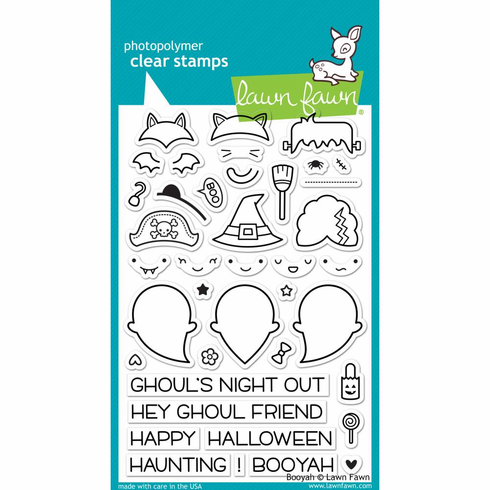 Lawn Fawn Booyah Clear Stamps - S/O