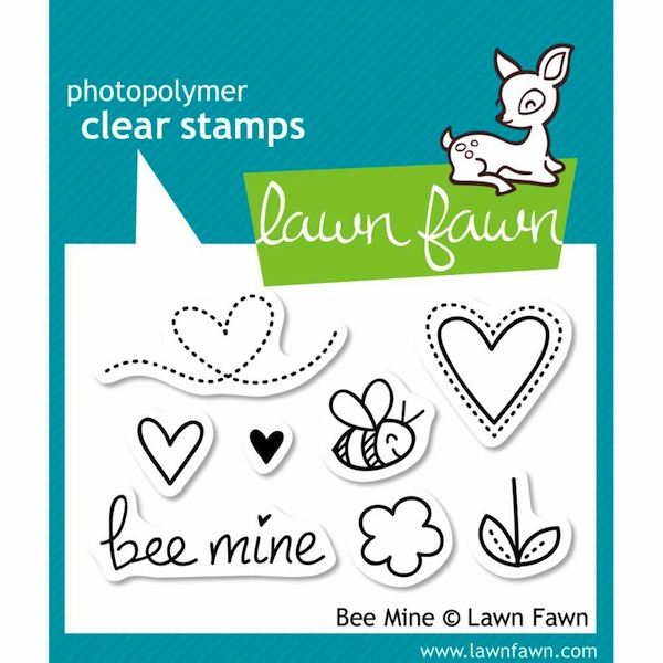 Lawn Fawn - Clear Stamps - Bee Mine  - S/O