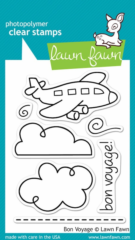 Lawn Fawn - Clear Stamps - Bon Voyage - S/O