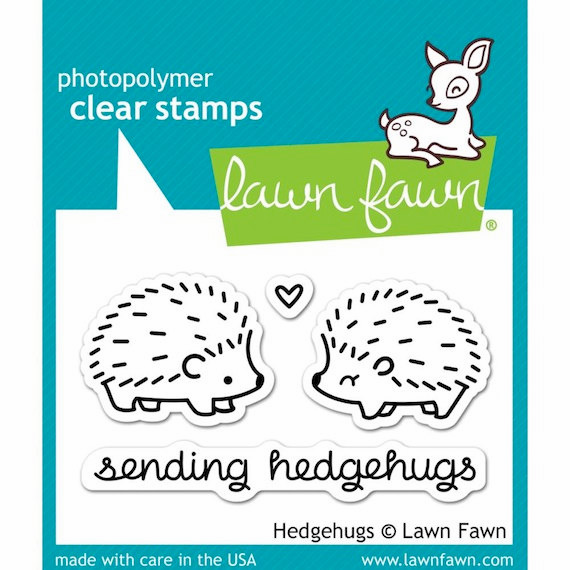 Lawn Fawn - Clear Stamps - Hedgehugs - S/O