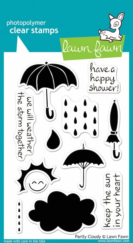 Lawn Fawn - Clear Stamps - Partly Cloudy - S/O