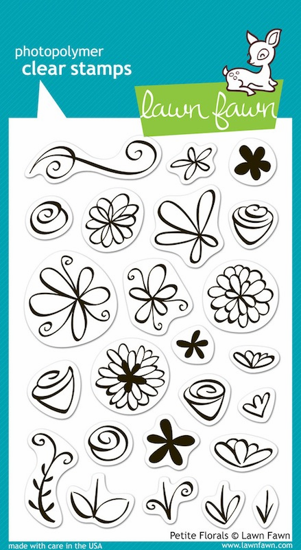 Lawn Fawn - Clear Stamps - Petite Florals - S/O