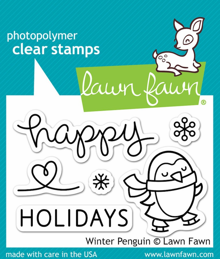 Lawn Fawn - Clear Stamps - Winter Penguin (S/O)