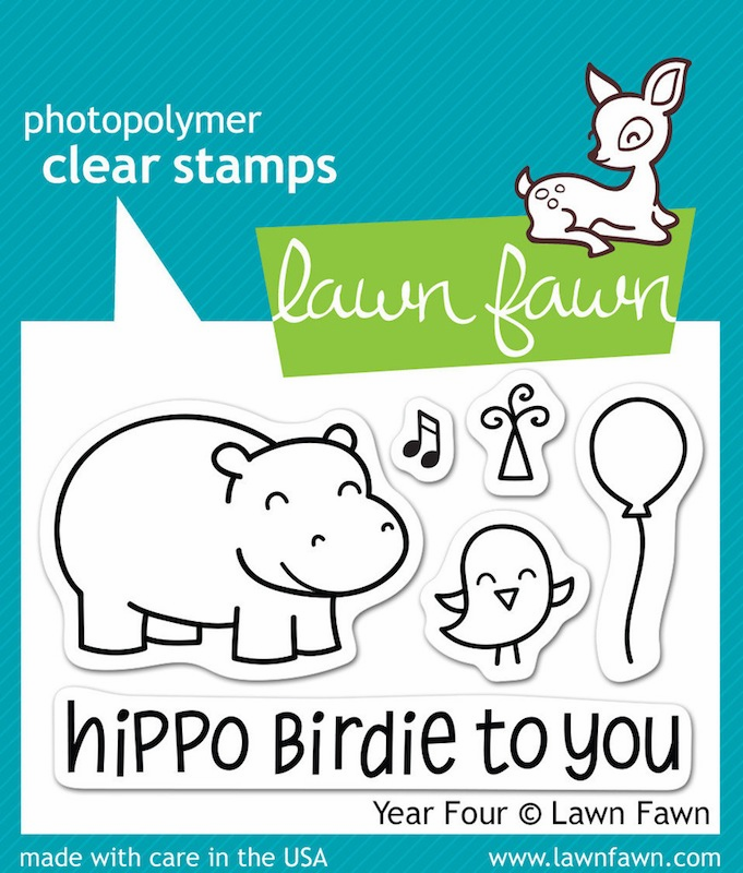 Lawn Fawn - Clear Stamps - Year Four - S/O