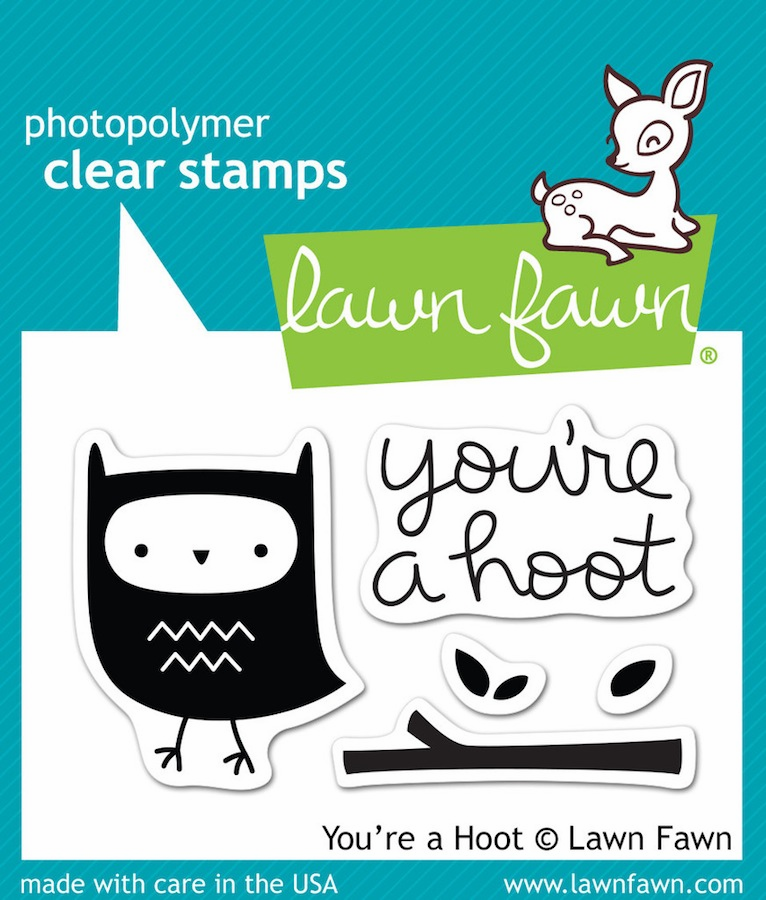 Lawn Fawn - Clear Stamps - You're A Hoot - S/O