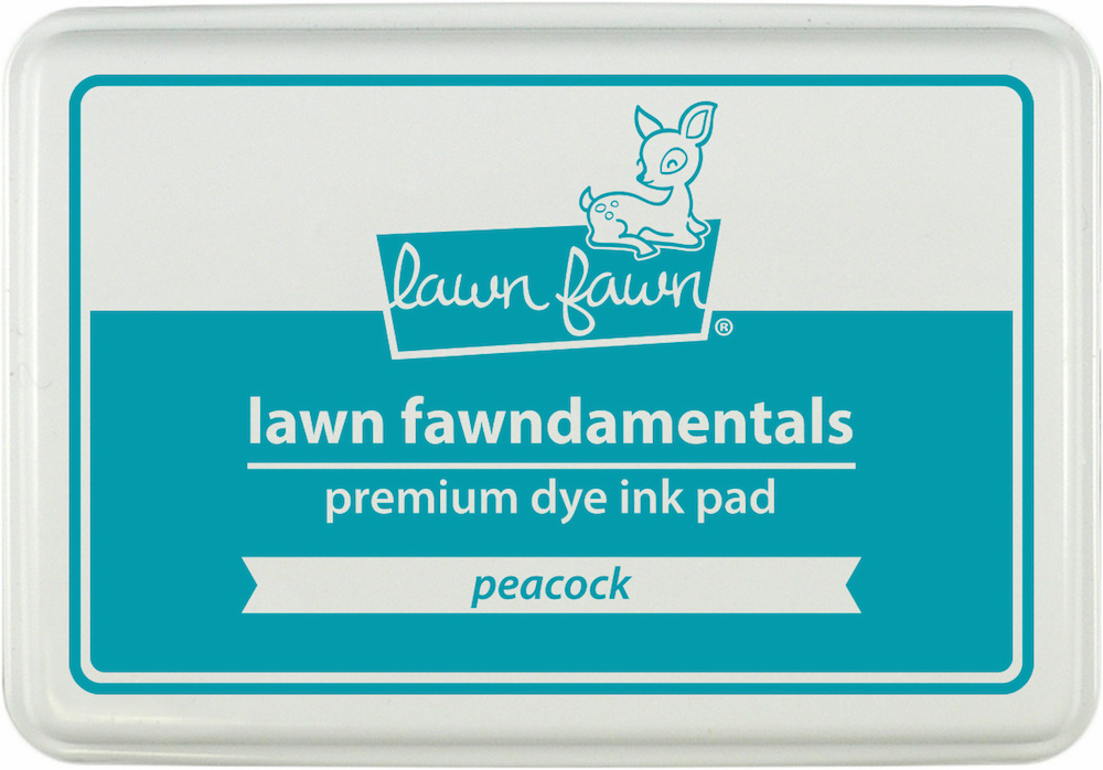 Lawn Fawn Peacock Ink Pad (S/O)