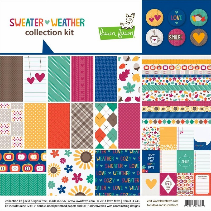 Lawn Fawn - Sweater Weather Collection Kit 12x12 - S/O