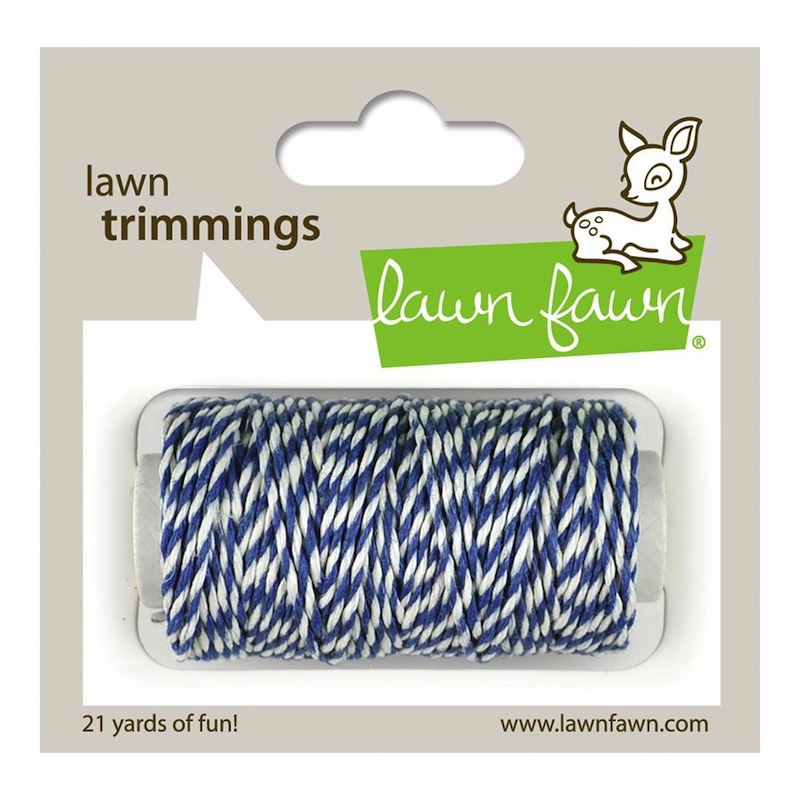 Lawn Fawn - Trimmings Hemp Cord - Blue Jay