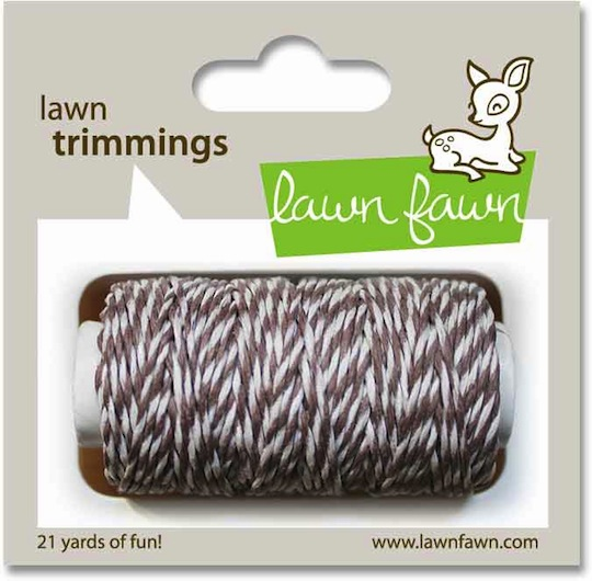 Lawn Fawn - Trimmings Hemp Cord - Hot Cocoa