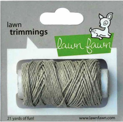 Lawn Fawn - Trimmings Hemp Cord - Natural (S/O)