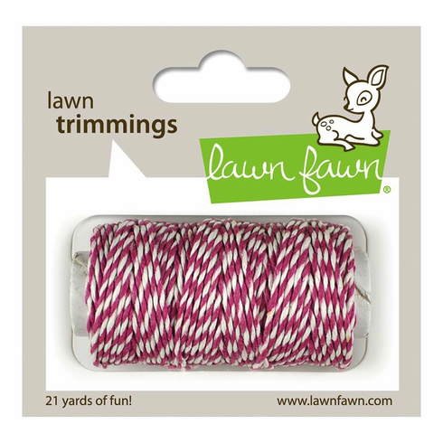 Lawn Fawn - Trimmings Hemp Cord - Orchid