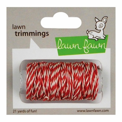 Lawn Fawn - Trimmings Hemp Cord - Peppermint