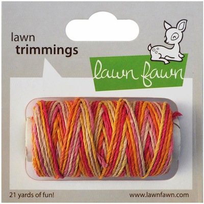 Lawn Fawn - Trimmings Hemp Cord - Pink Lemonade