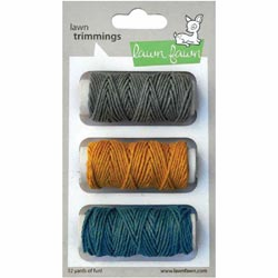 Lawn Fawn Trimmings Hemp Cord Vivid