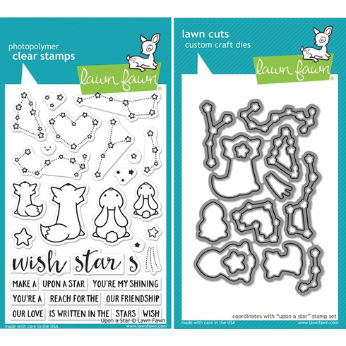 Lawn Fawn Upon A Star Stamp and Die Set LF1407 & LF1408