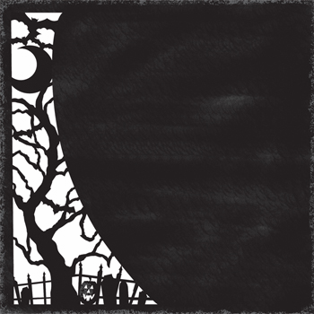 Little Yellow Bicycle: Trick Or Treat - Lace Cut  Spooky Tree - S/O