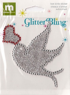 Making Memories: Glitter Bling - Love Bird (E)
