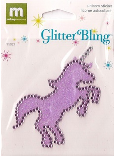 Making Memories: Glitter Bling - Unicorn (E)