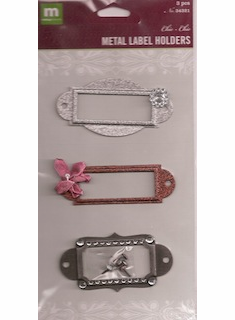 Making Memories: Metal Label Holders Chic (E)