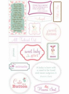 Making Memories: Pitter Patter Sophie - Quote Stickers (E)