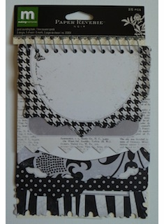 Making Memories: Spiral Journaling Book - Paper Reverie Noir (E)