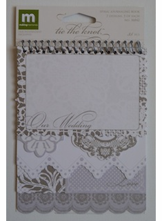 Making Memories: Spiral Journaling Book - Tie The Knot (E)