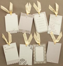 Making Memories: Tie The Knot - Journaling Tags 8/Pkg
