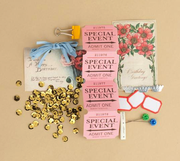 Making Memories: Vintage Findings - Mini Kit Birthday (E)