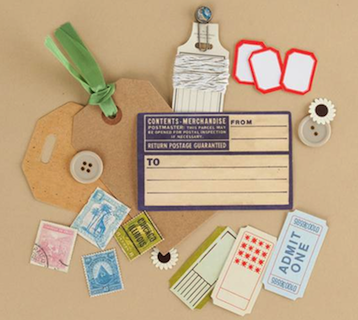 Making Memories: Vintage Findings - Mini Kit Travel (E)