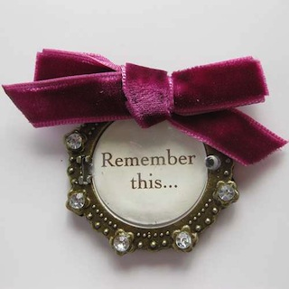 Making Memories: Vintage Sentiment - Remember This - S/O