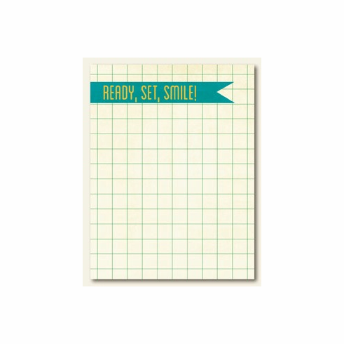 "My Minds Eye - Collectable Remarkable ""Smile"" Journal Card"