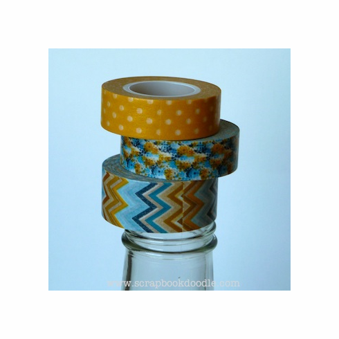 My Minds Eye Indie Chic Decorative Tape Hanging Out