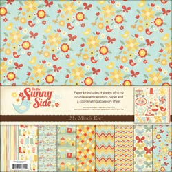 My Minds Eye - On The Sunny Side - Paper & Accessories Kit 12x12 - S/O