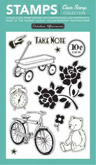 October Afternoon: 5 & Dime - Clear Stamps - S/O