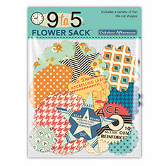 October Afternoon: 9 to 5 - Flower Sack