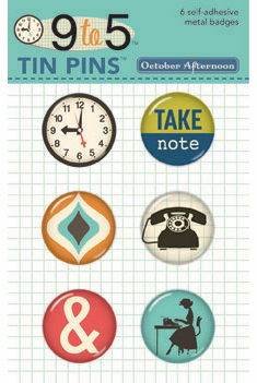 October Afternoon: 9 to 5 - Tin Pins  - S/O