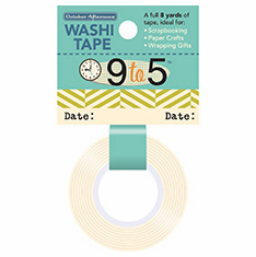 October Afternoon: 9 to 5 - Washi Tape Date (S/O)