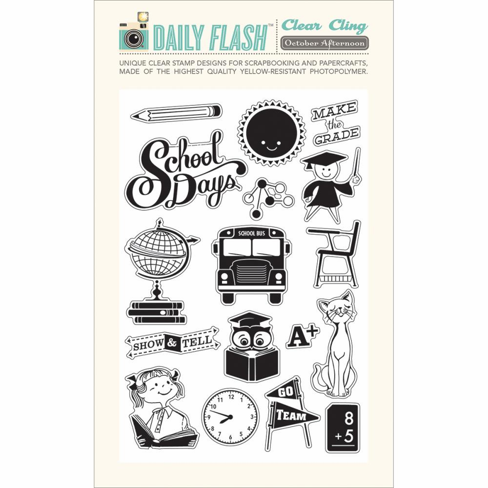 October Afternoon - Daily Flash Milk Money - Stamp Set (S/O)