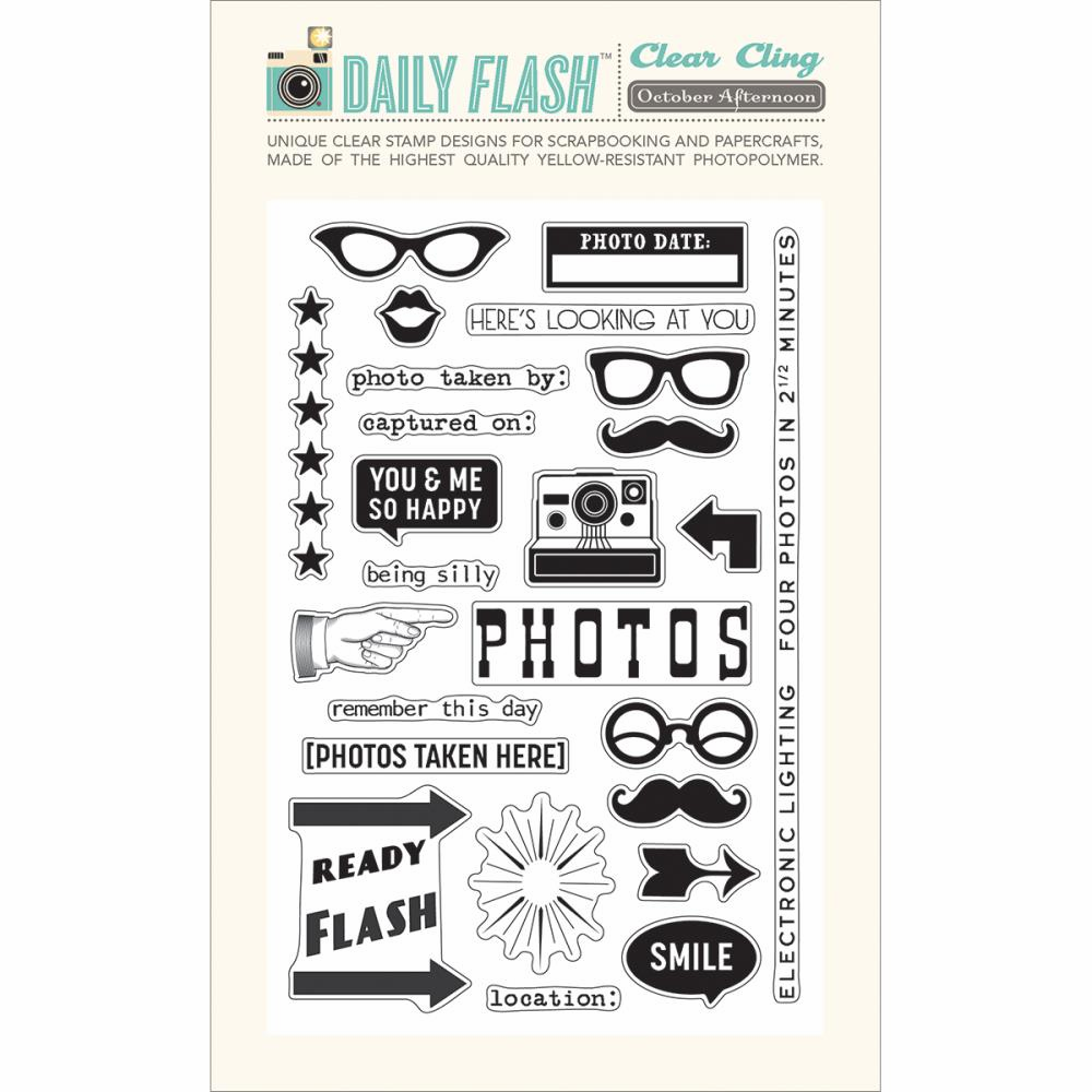 October Afternoon - Daily Flash - Stamp Set - Picture This!  (S/O)