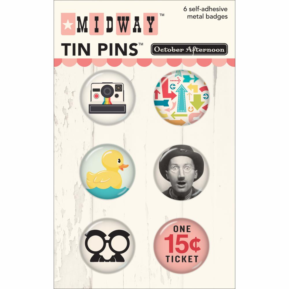 October Afternoon - Midway - Tin Pins (S/O)