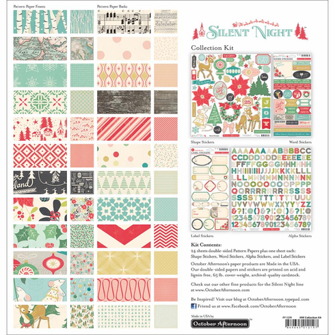 October Afternoon - Silent Night - Collection Kit 12x12 - S/O