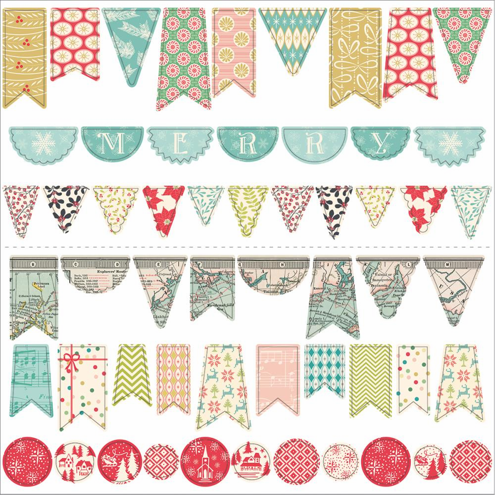 October Afternoon - Silent Night - Sew Fun Banners - S/O