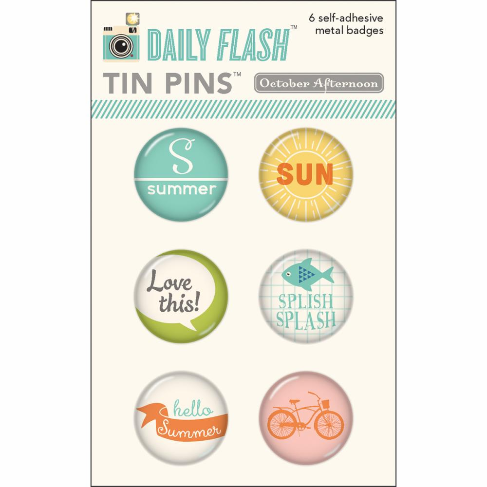 October Afternoon - Summertime - Tin Pins (E)