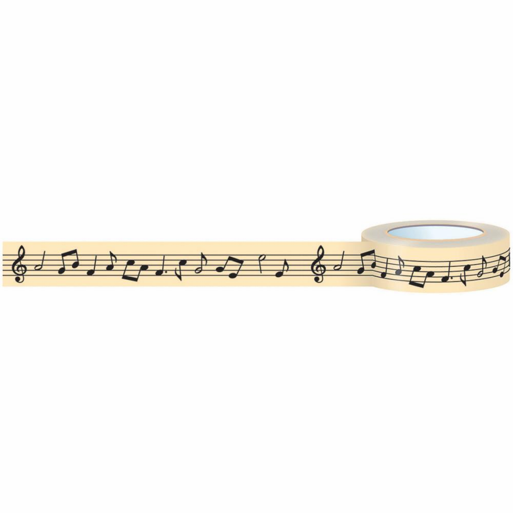 October Afternoon Under The Tree Music Notes Washi Tape (S/O)