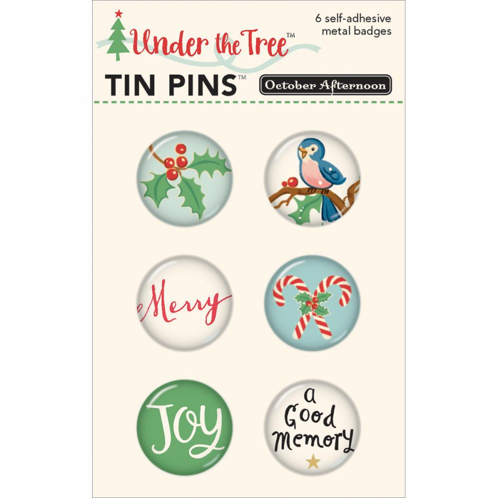 October Afternoon Under The Tree Tin Pins - S/O